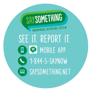 Say Something Campaign